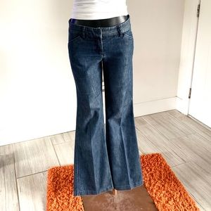 Express Design Studio Editor Flare Jeans Size OR